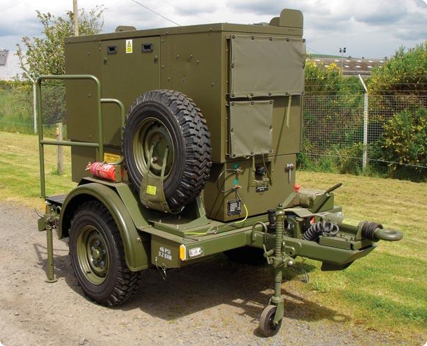 M101 Trailer Wiring Diagram : Military generators