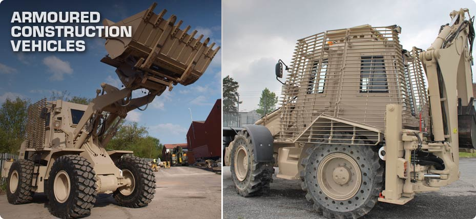 Penman Armoured Construction Vehicles